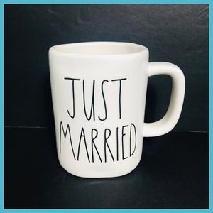 RAE DUNN JUST MARRIED COFFEE & TEA MUG